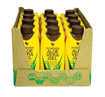 Aloe Vera Gel - 330ml (Pack of 12)