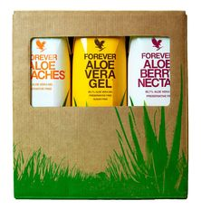 Forever Drinks and Gels - Aloe Mixed Gel Tripack
