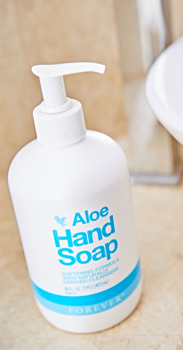 Health And Wellbeing Products - Aloe Hand Soap